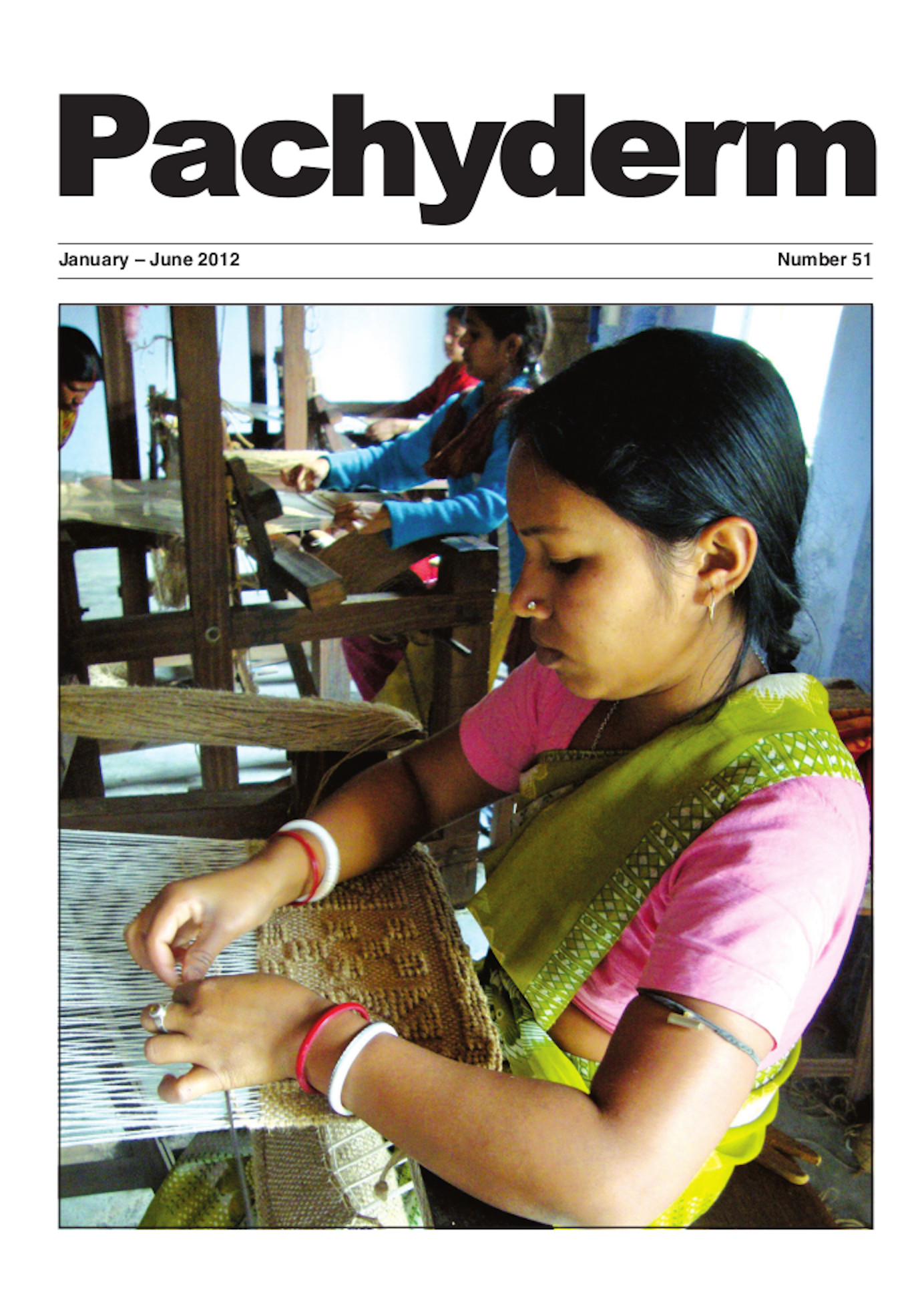 Cover: The Forest Department of West Bengal, India, has trained a number of women living in the areas surrounding Gorumara National Park to weave jute handicrafts to sell to tourists, one of several activities to support the villagers. Photo: © Lucy Vigne