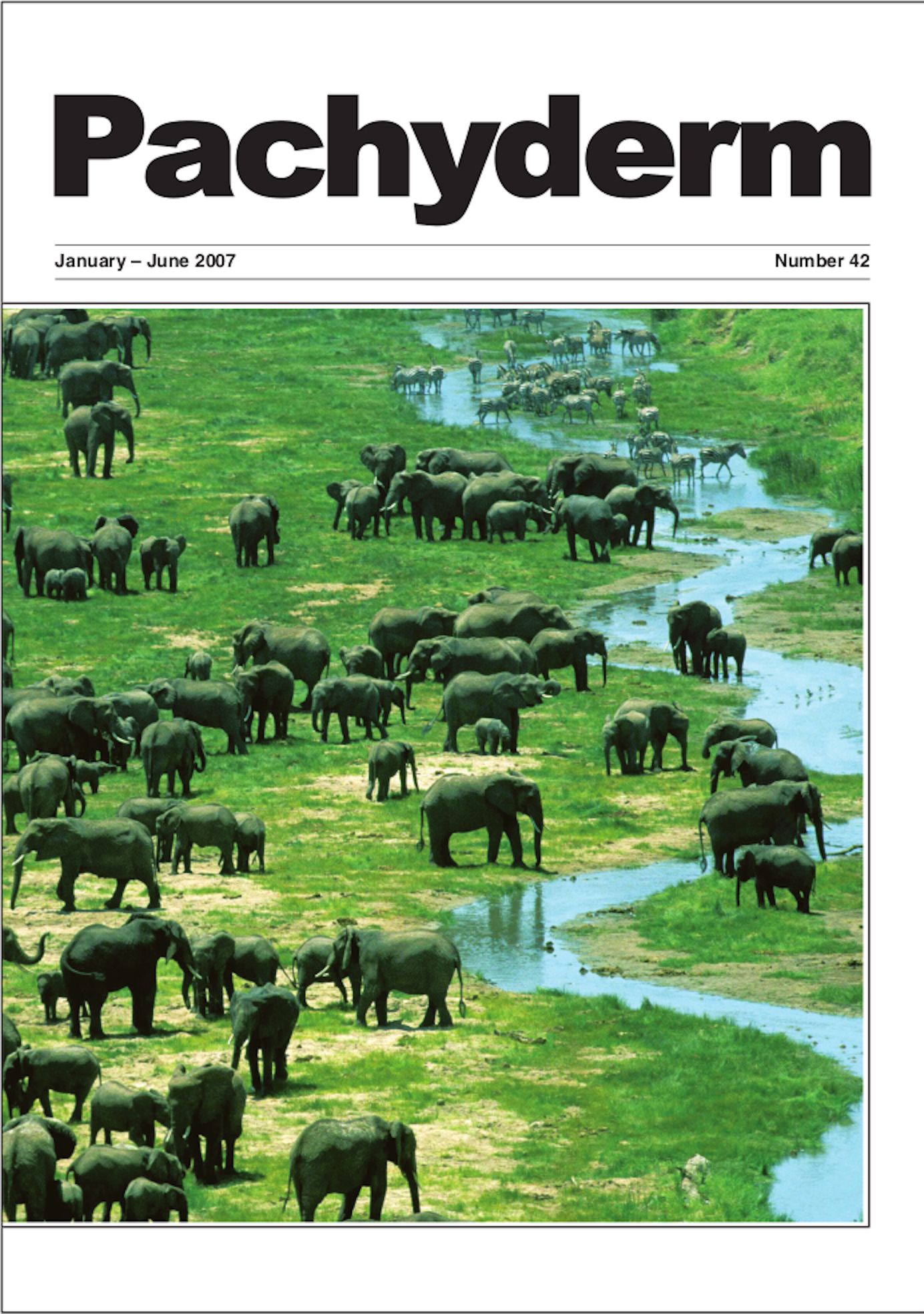 Cover: Elephants in Tarangire National Park, Tanzania. Photo: Charles and Lara Foley