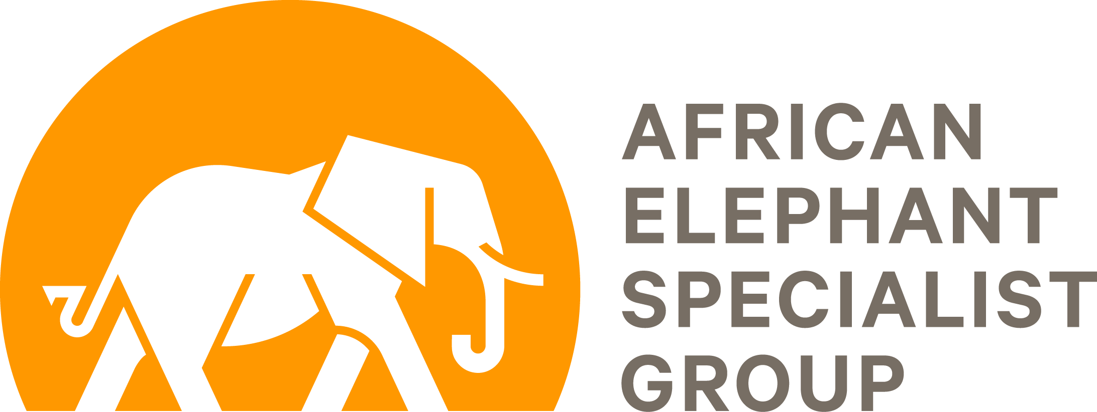 African Elephant Specialist Group logo.